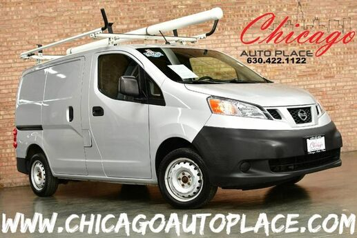 2013 Nissan NV200 S - 2.0L I4 ENGINE 1 OWNER FRONT WHEEL DRIVE DARK GRAY CLOTH INTERIOR REAR STORAGE RACKS WORK READY DUAL SLIDING REAR DOORS Bensenville IL