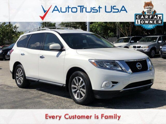 2013 Nissan Pathfinder Sv 1 Owner Backup Cam 3rd Row Power Seat Low