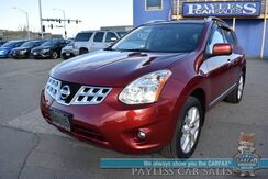 2013_Nissan_Rogue_SL / AWD / Auto Start / Heated Leather Seats / Navigation / Sunroof / Bose Speakers / Bluetooth / Back Up Camera / 27 MPG / 1-Owner_ Anchorage AK