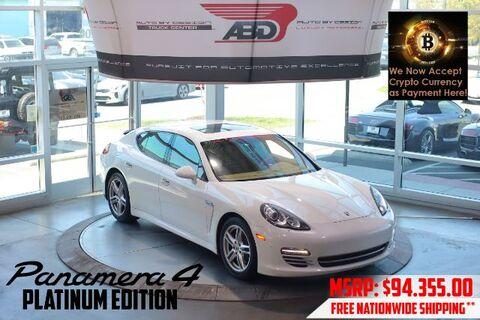 2013_Porsche_Panamera_4 Platinum Edition_ Chantilly VA