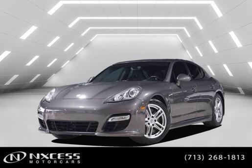 2013 Porsche Panamera Turbo One Owner Clean Carfax! Houston TX