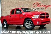 2013 Ram 1500 Express - 5.7L V8 HEMI ENGINE 4WD QUAD CAB BACKUP CAMERA BLUETOOTH GRAY CLOTH INTERIOR BLACK BEDLINER