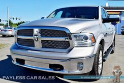 2013_Ram_1500_Laramie Longhorn Edition / 4X4 / Crew Cab / Heated & Ventilated Leather Seats / Heated Steering Wheel / 8.4 Touchscreen Navigation / Sunroof / Alpine Speakers & Subwoofer / Auto Start / Bluetooth / Back Up Camera / Tow Pkg / 1-Owner_ Anchorage AK