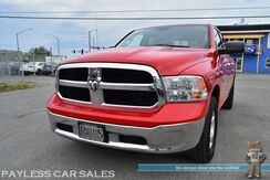 2013_Ram_1500_SLT / 4X4 / Quad Cab / 5.7L V8 HEMI / Automatic / Seats 6 / Bluetooth / Cruise Control / Power Sliding Rear Window / Tonneau Cover / Bed Liner / Tow Pkg_ Anchorage AK