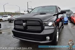 2013_Ram_1500_Sport / 4X4 / 5.7L HEMI V8 / Crew Cab / Heated & Cooled Leather Seats / Heated Steering Wheel / Sunroof / Navigation / Alpine Speakers / Auto Start / Back Up Camera / Bed Liner / Tow Pkg_ Anchorage AK