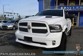 2013 Ram 1500 Sport / 4X4 / Crew Cab / 5.7L HEMI V8 / Heated & Cooled Leather Seats / Heated Steering Wheel / Sunroof / Navigation / Alpine Speakers & Subwoofer / Auto Start / Back Up Camera / Tonneau Cover / Tow Pkg