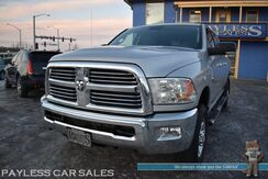 2013_Ram_2500_Big Horn / 4X4 / Mega Cab / 6.7L Cummins Turbo Diesel / Auto Start / Power & Heated Seats / Heated Steering Wheel / Navigation / Sunroof / Bluetooth / Back Up Camera / Bed Liner / Tow Pkg / Block Heater_ Anchorage AK