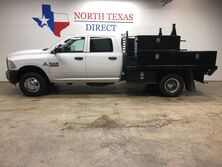 Ram 3500 Tradesman DRW Cummins Diesel Flat Bed Work Bed Dually 2013
