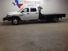 2013_Ram_5500_FREE DELIVERY! 4x4 Diesel Dually Aisin Crew Flat Bed_ Mansfield TX