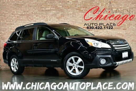 2013 Subaru Outback 2.5i Limited PZEV - 2.5L 4-CYL BOXER ENGINE ALL WHEEL DRIVE BEIGE LEATHER HEATED SEATS SUNROOF BACKUP CAMERA WOOD GRAIN INTERIOR TRIM Bensenville IL