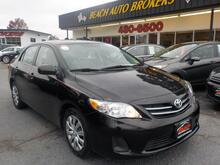 2013_TOYOTA_COROLLA_LE, WARRANTY, CRUISE CONTROL, AUX PORT, USB PORT, A/C, SINGLE CD PLAYER, PREMIUM ALLOY RIMS,  USB!_ Norfolk VA