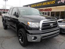 2013_TOYOTA_TUNDRA_SR5 DOUBLE CAB 4X4, WARRANTY, BLUETOOTH, TOW PKG, HEATED MIRRORS, PARKING SENSORS, TOW PKG,TONNEAU!_ Norfolk VA