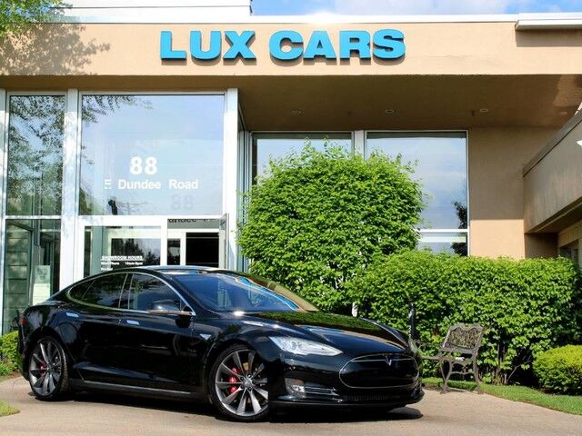 2013_Tesla_Model S_Performance P85 Tech Nav 21 Wheels_ Buffalo Grove IL
