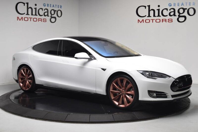 2013_Tesla_Model S_SUPER CLEAN CAR FROM CALI!! CLEAN FAX ONE OWNER!! JUST IN!!_ Chicago IL