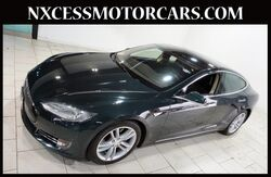 2013_Tesla_Model S_XENON BACK-UP CAM POWER TRUNK 1-OWNER._ Houston TX