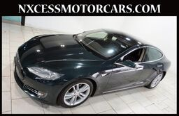 Tesla Model S XENON BACK-UP CAM POWER TRUNK 1-OWNER. 2013