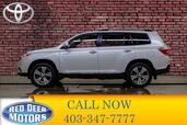 2013 Toyota Highlander AWD Limited 3rd Row Leather Roof nav