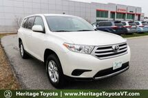 2013 Toyota Highlander  South Burlington VT