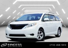 Toyota Sienna LE 5dr 8-Pass Van V6 LE FWD 2013