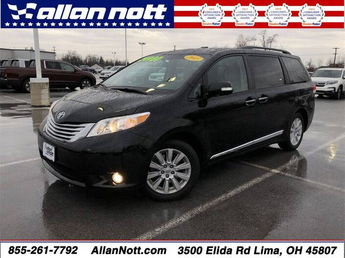 2013 Toyota Sienna Limited Lima OH