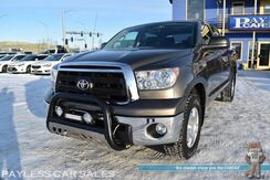 2013_Toyota_Tundra_SR5 / TRD Off Road Pkg / 4X4 / 5.7L V8 / Crew Max / Auto Start / Power Driver's Seat / Sunroof / Navigation / Bluetooth / Back Up Camera / LED Light Bar / Bed Liner / Aluminum Wheels / Tow Pkg / Block Heater / 1-Owner_ Anchorage AK