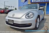 2013 Volkswagen Beetle Coupe 2.0L TDI / Turbo Diesel / Automatic / Heated Leather Seats / Fender Speakers / Sunroof / Navigation / Bluetooth / Cruise Control / 39 MPG