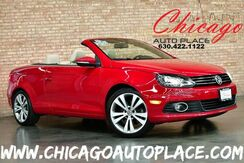2013_Volkswagen_Eos_2.0 TSI Executive - 2.0L TSI TURBOCHARGED I4 ENGINE 1 OWNER FRONT WHEEL DRIVE NAVIGATION PARKING SENSORS BEIGE LEATHER HEATED SEATS KEYLESS GO DUAL ZONE CLIMATE XENONS_ Bensenville IL