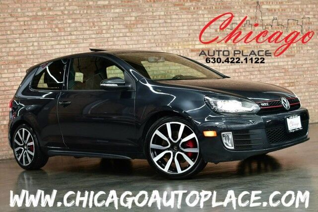 2013 Volkswagen GTI w/ SUNROOF & NAVIGATION SYSTEM KEYLESS GO DYNAUDIO SUNROOF XENONS BLACK LEATHER HEATED SEATS PREMIUM ALLOY WHEELS TURBOCHARGED Bensenville IL