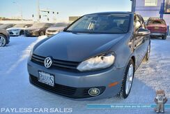2013_Volkswagen_Golf_TDI / Automatic / Turbo Diesel / Heated Seats / Sunroof / Navigation / Dynaudio Speakers / Bluetooth / Back Up Camera / HID Headlamps / Keyless Entry & Start / Aluminum Wheels / 42 MPG / Low Miles_ Anchorage AK