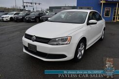 2013_Volkswagen_Jetta Sedan_TDI / Turbo Diesel / Automatic / Heated Leather Seats / Bluetooth / Back Up Camera / Cruise Control / Aluminum Wheels / 42 MPG / Only 37k MIles / 1-Owner_ Anchorage AK