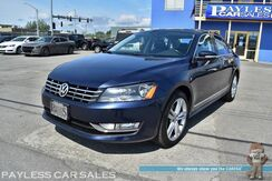 2013_Volkswagen_Passat_TDI SE / Turbo Diesel / Heated Leather Seats / Navigation / Sunroof / Bluetooth / Back Up Camera / Cruise Control / Aluminum Wheels / 43 MPG_ Anchorage AK