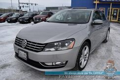 2013_Volkswagen_Passat_TDI SEL Premium / Turbo Diesel / Auto Start / Heated Leather Seats / Fender Speakers / Navigation / Sunroof / Bluetooth / Back Up Camera / Cruise Control / Only 34k Miles / 40 MPG / 1-Owner_ Anchorage AK