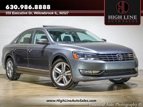 2013_Volkswagen_Passat_TDI SEL Premium_ Willowbrook IL