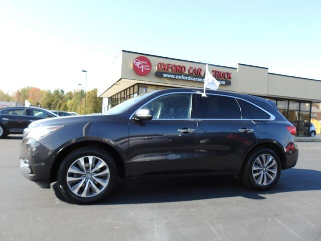 2014 Acura MDX 3.5L Technology Package Oxford NC