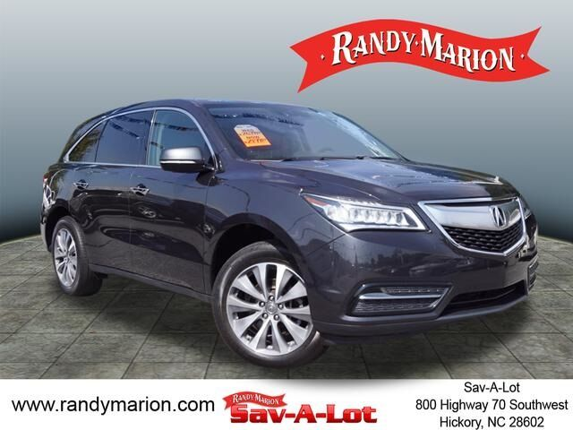 2014 acura mdx 3 5l technology package hickory nc 20346757. Black Bedroom Furniture Sets. Home Design Ideas