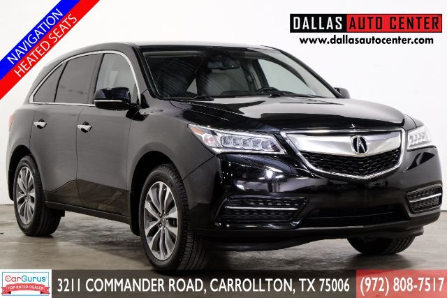 2014 Acura MDX 6-Spd AT w/Tech and Entertainment Package Carrollton TX