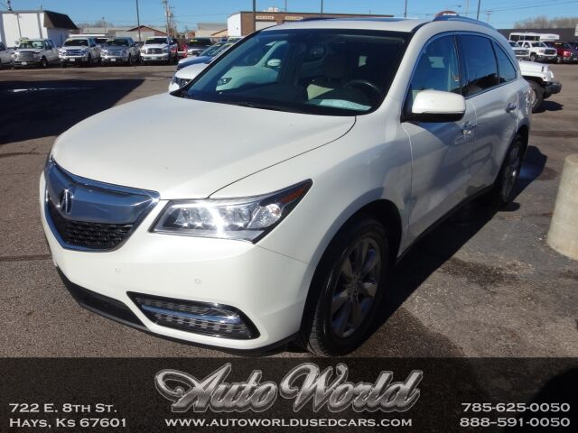2014 Acura MDX ADVANCE DVD AWD  Hays KS