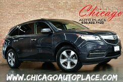 2014_Acura_MDX_SH-AWD - 1 OWNER CLEAN CARFAX KEYLESS GO MULTI-VIEW BACKUP CAMERA BLACK LEATHER HEATED SEATS DUAL LCD'S SUNROOF 3RD ROW SEATS_ Bensenville IL
