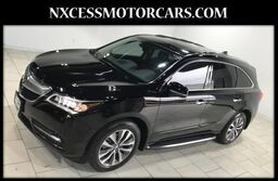 Acura MDX Tech Pkg 1 OWNER 3RD ROW LEATHER CLEAN 2014