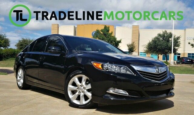 Acura RLX LEATHER SUNROOF NAVIGATION AND MUCH MORE - Acura navigation