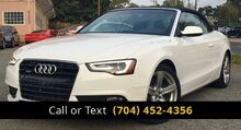 2014_Audi_A5_Cabriolet 2.0T quattro Tiptronic_ Charlotte and Monroe NC