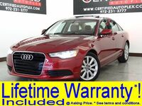 Audi A6 2.0T PREMIUM PLUS BLIND SPOT MONITOR MMI NAVIGATION PLUS WITH MMI TOUCH 2014
