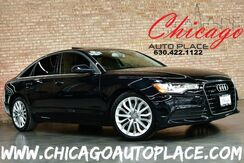 2014_Audi_A6_3.0L TDI Premium Plus - QUATTRO ALL WHEEL DRIVE NAVIGATION BACKUP CAMERA KEYLESS GO BLACK LEATHER HEATED SEATS SUNROOF WOOD GRAIN INTERIOR TRIM XENONS BOSE AUDIO_ Bensenville IL