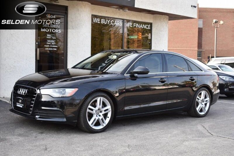 vehicle details 2014 audi a6 at selden motors. Black Bedroom Furniture Sets. Home Design Ideas