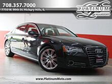 2014_Audi_A8 L 4.0T_2 Owner Serviced Roof Nav_ Hickory Hills IL
