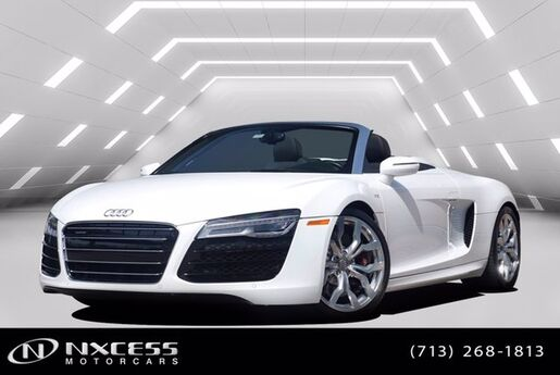 2014 Audi R8 V10 Carbon Fiber Package Spotless One Owner Car Houston TX