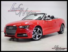 2014_Audi_S5_Premium Plus 1 Owner Florida Conv. Bang & Olufsen Keyless Start_ Villa Park IL
