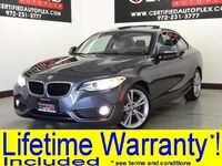 BMW 228i DRIVER ASSIST PKG PLUS DRIVER ASSIST PKG PREMIUM PKG TECHNOLOGY PKG 2014