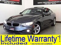 BMW 428i COUPE NAVIGATION SUNROOF LEATHER HEATED SEATS REAR CAMERA REAR PARKING AID 2014