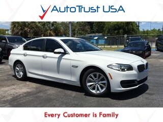 BMW 5 Series 528i 1 Owner Nav Backup Cam Sunroof Leather Fully Loaded 2014
